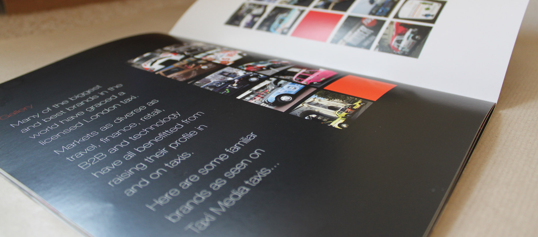 corporate rebrand brochure