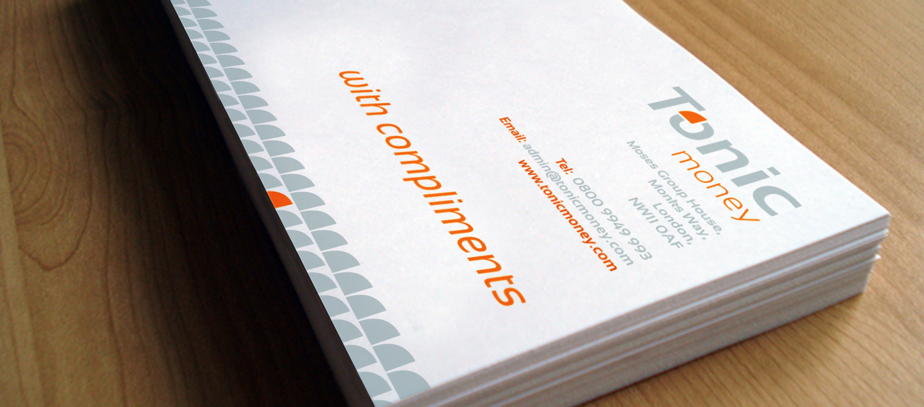 branding Tonic comp slips