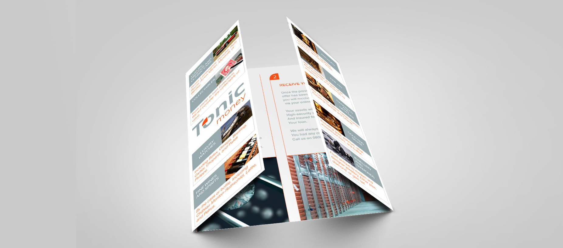 Branding tonic leaflet