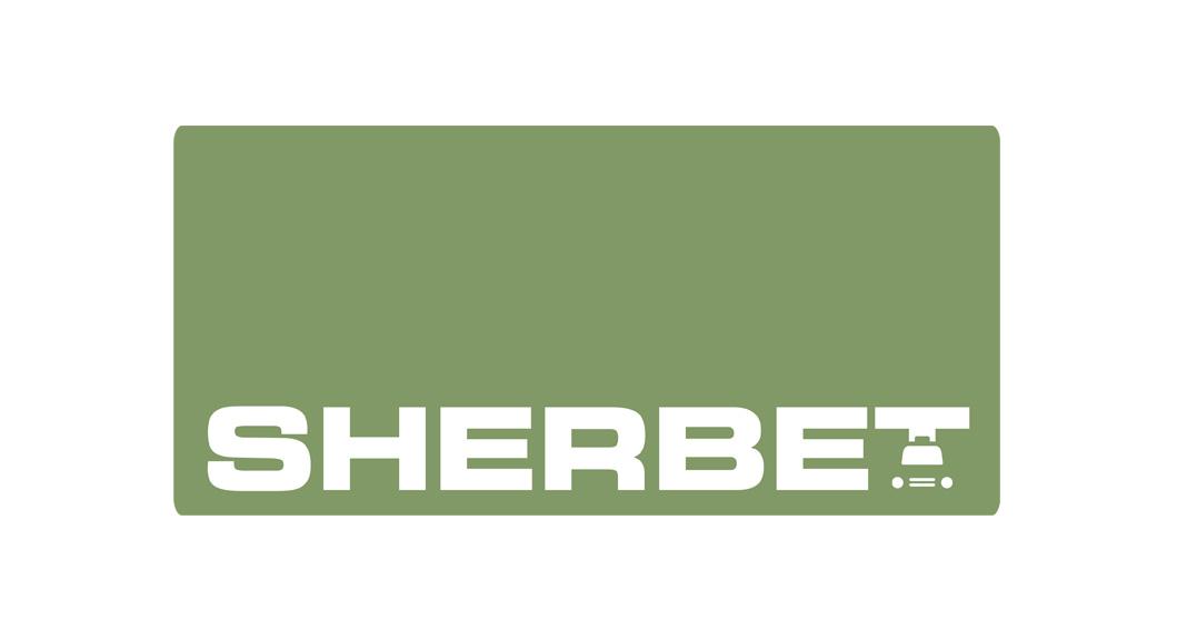 sherbet logo concept