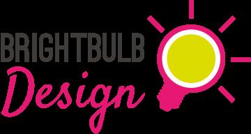Brightbulb design Logo mobile retina