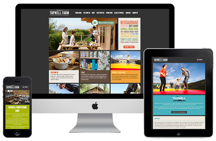 Tapnell Farm website
