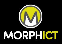 Morph ICT Portrait Logo reverse