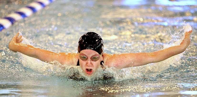 corporate identity design swimming