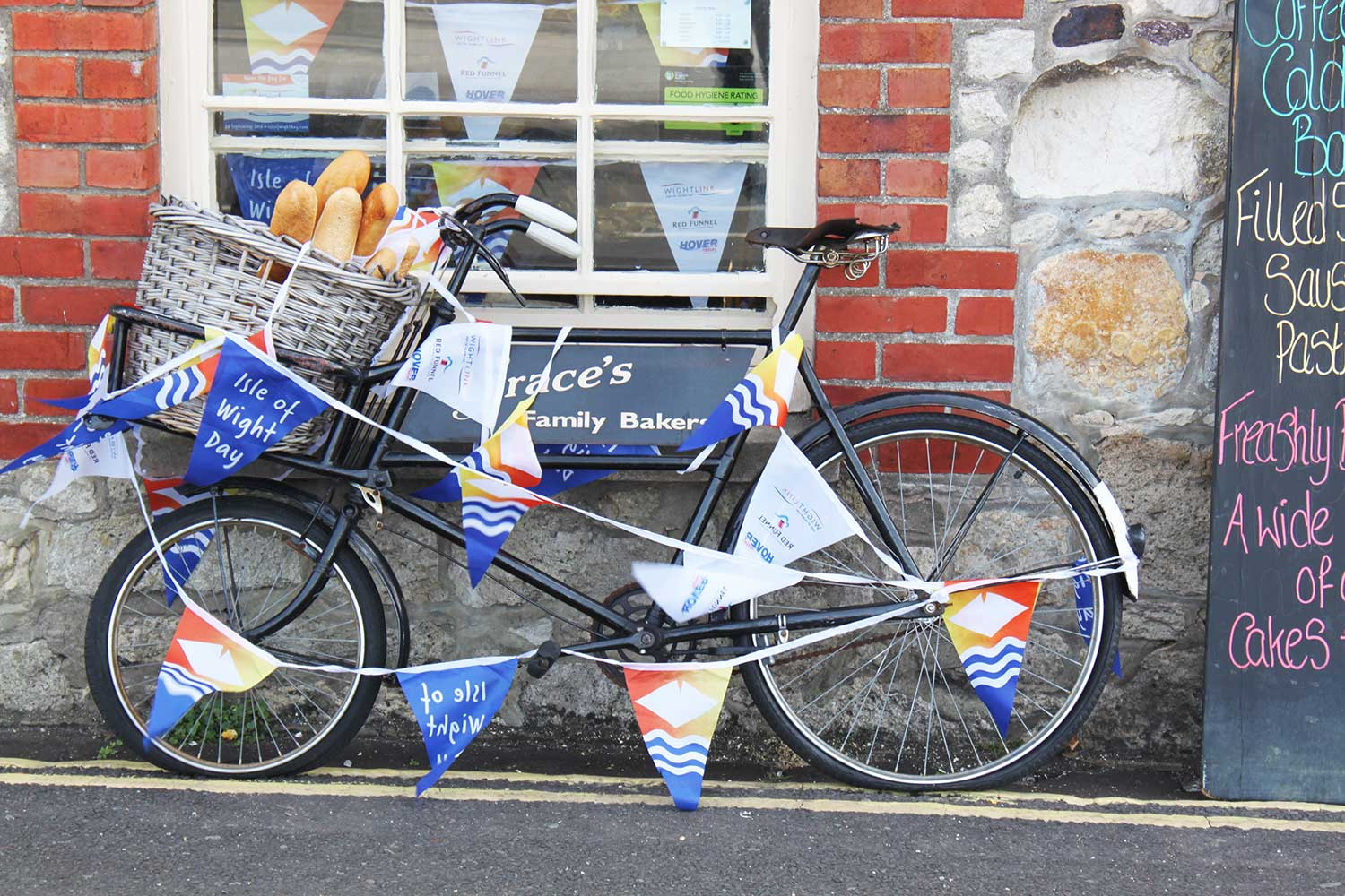 Isle of Wight day bike