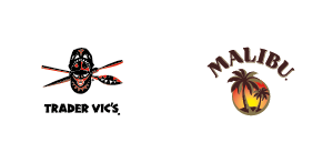 Malibu and Trader Vics Brightbulb Design