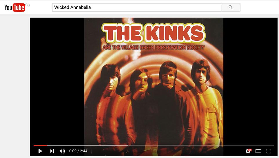 you tube marketing the kinks