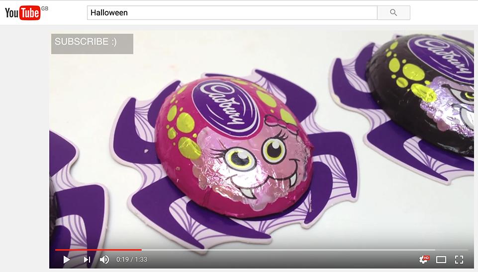 you tube marketing cadburys