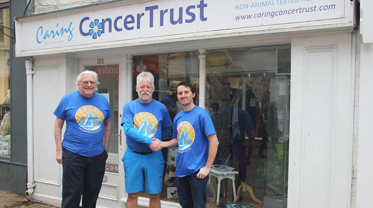 The Caring Cancer Trust brightbulb design