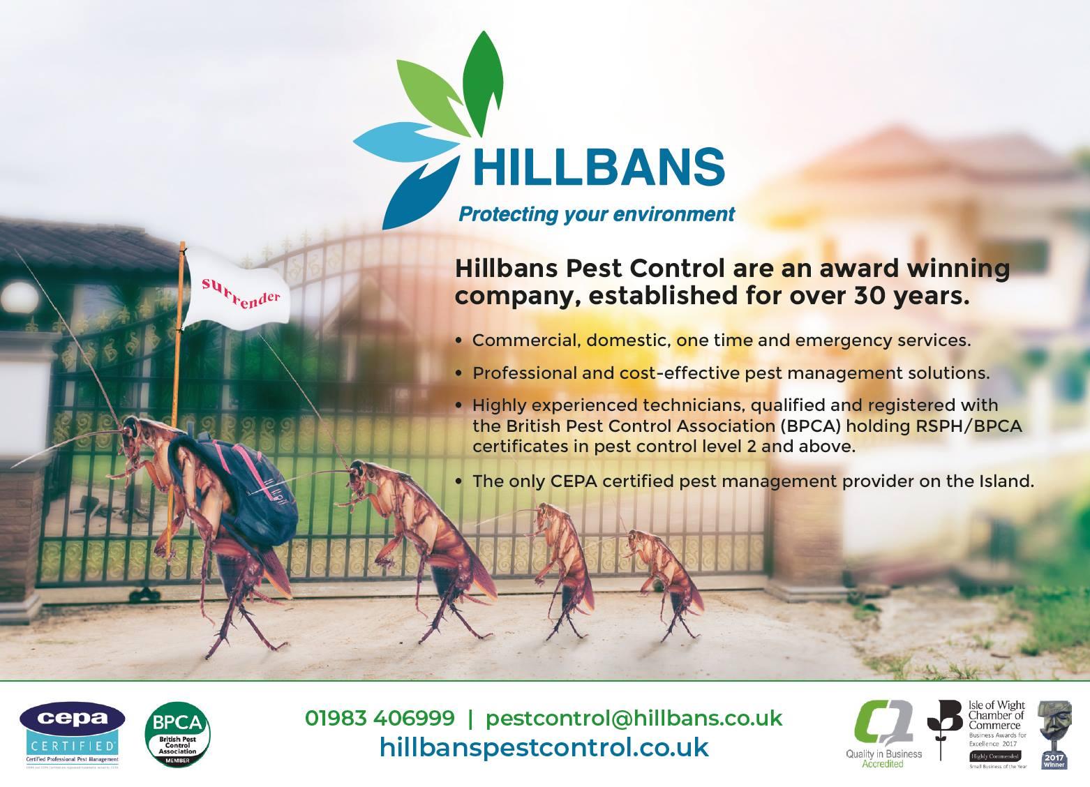 Hillbans Advert